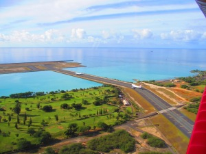 Taxiway to Reef Runway
