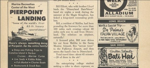 Bill Elliott - 1963 News Article