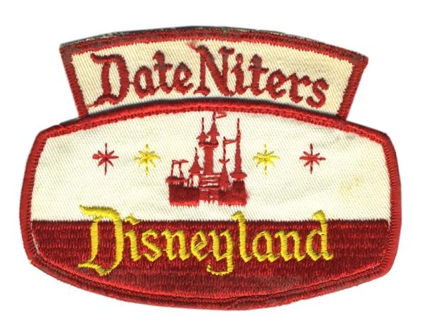 Date Niters Disneyland Patch