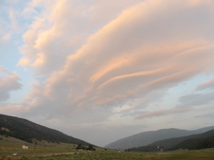 Lenticular over Cuddy Valley