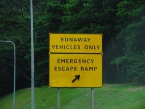 Runaway Escape Ramp