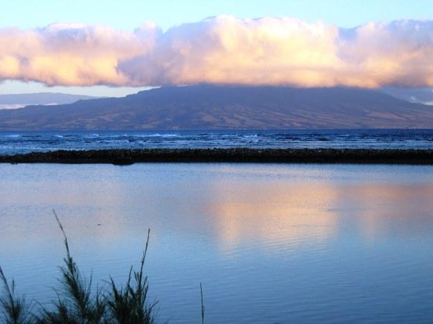 Maui Sunset from Moloikai