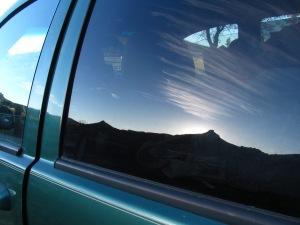 Malibu Jeep Reflection
