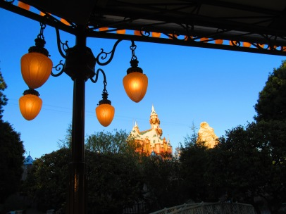 View from Dad's Disneyland Bandstand