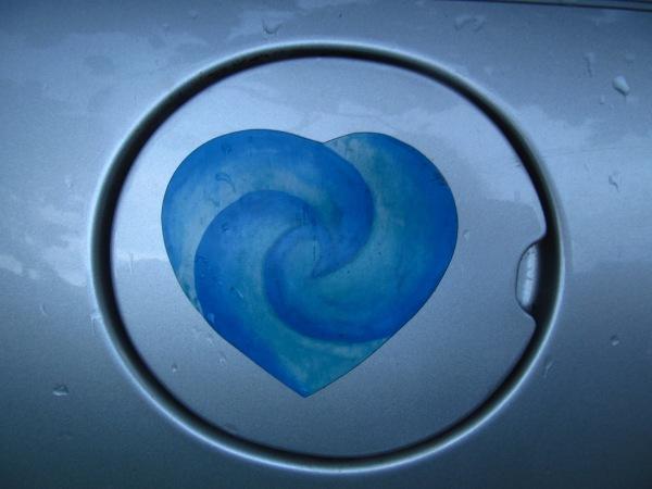 Gas Cap Heart
