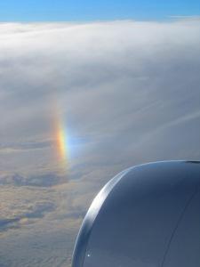 Random Rainbow off of California en route Hawaii