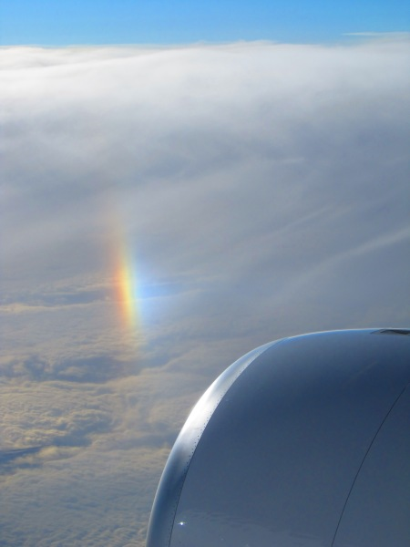 Random Rainbow off of California en route Hawaii