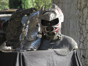 Mask and Chainmaille