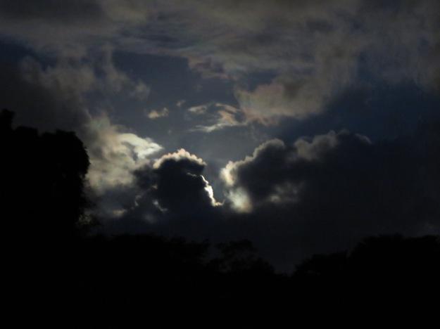 Hawaiian Moon Clouds